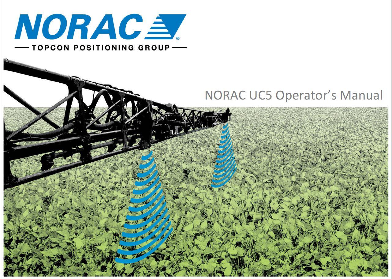 NORAC UC5 Operators Manual
